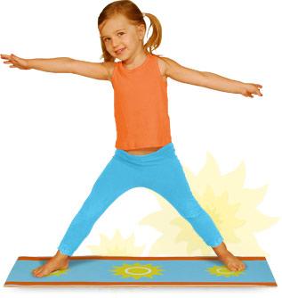Yoga For Kids The Little Yoga Mat